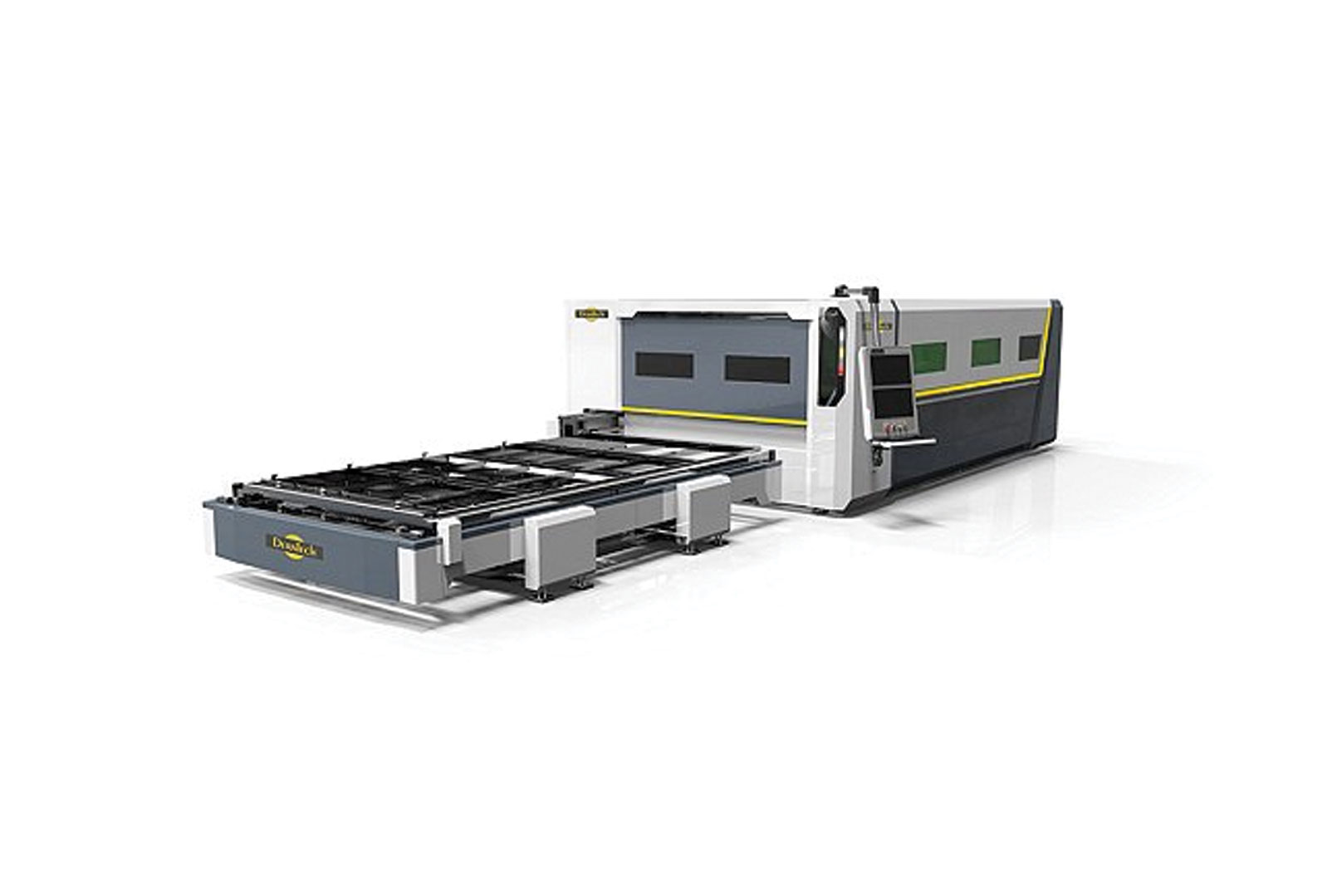 Fiber laser-cutting machines